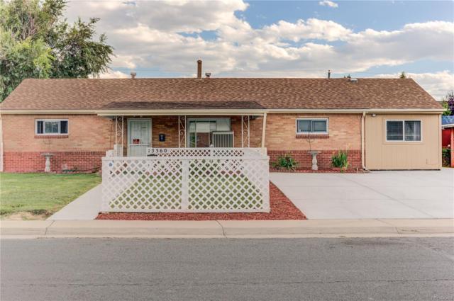 13360 E 7th Avenue, Aurora, CO 80011 (#1594451) :: House Hunters Colorado