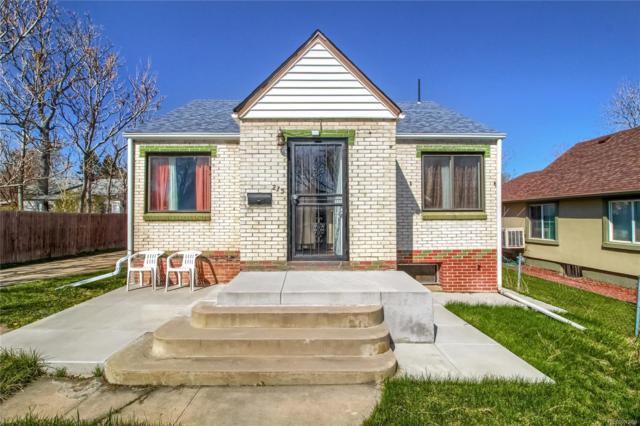 215 S Knox Court, Denver, CO 80219 (MLS #1595379) :: 8z Real Estate