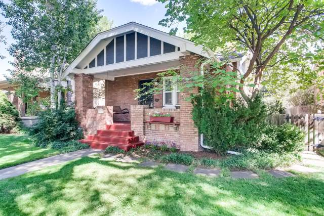 628 S Vine Street, Denver, CO 80209 (MLS #1596505) :: Keller Williams Realty