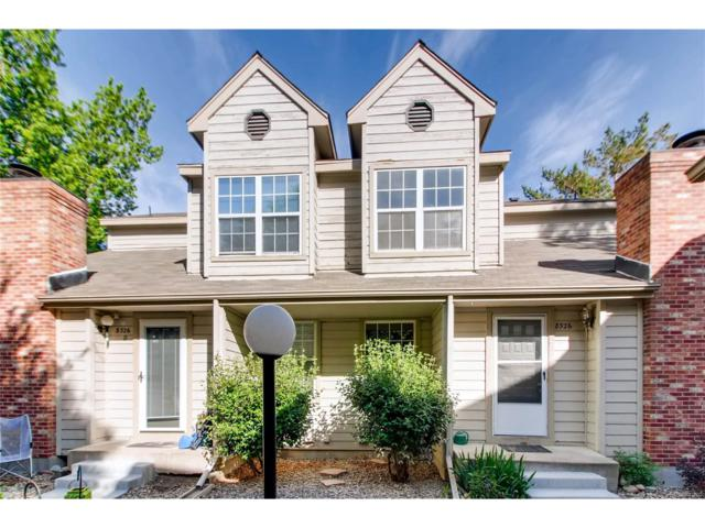 8326 W 87th Drive C, Arvada, CO 80005 (#1597297) :: The Peak Properties Group