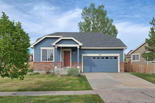 2251 Dogwood Drive, Erie, CO 80516 (#1598261) :: The Dixon Group