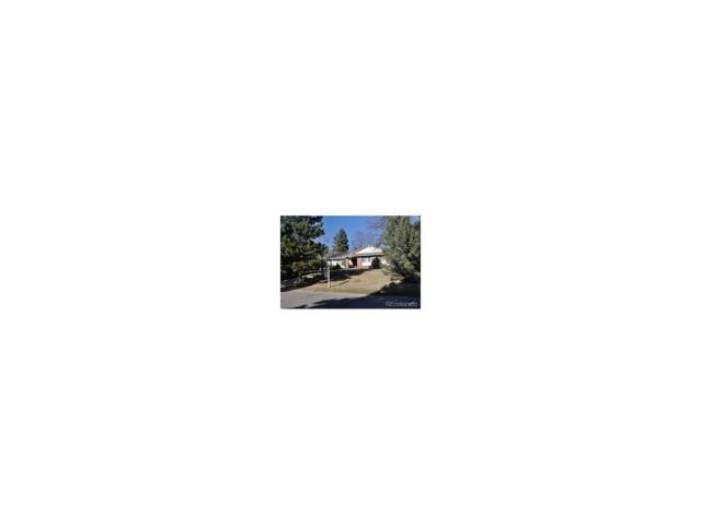 5760 Green Oaks Drive, Greenwood Village, CO 80121 (MLS #1599497) :: 8z Real Estate