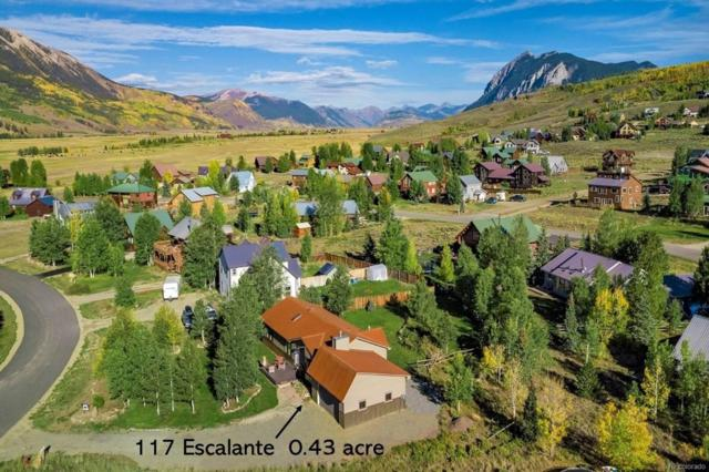 117 Escalante Street, Crested Butte, CO 81224 (#1605995) :: HomeSmart Realty Group