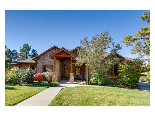 2640 Saddleback Drive, Castle Rock, CO 80104 (#1607865) :: The Dixon Group