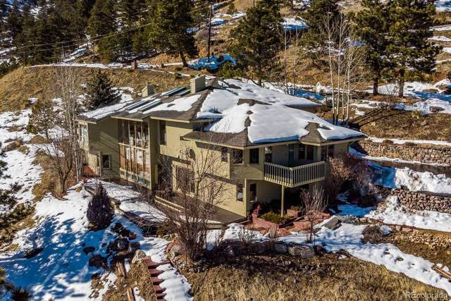 33174 Bergen Mountain Road, Evergreen, CO 80439 (#1608403) :: The Brokerage Group