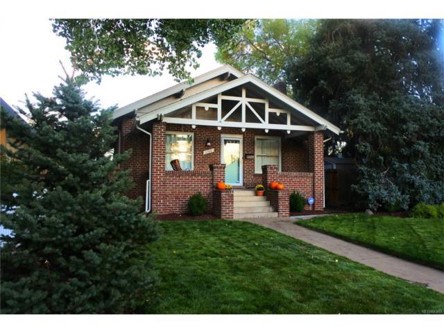 1780 S Logan Street, Denver, CO 80210 (#1612589) :: Thrive Real Estate Group