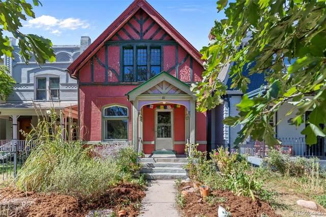 81 N Sherman Street, Denver, CO 80203 (#1613478) :: milehimodern
