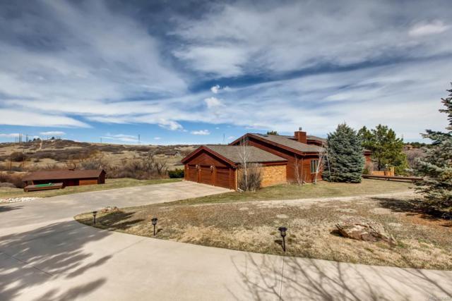 9027 Heather Drive, Castle Rock, CO 80108 (#1617026) :: Wisdom Real Estate