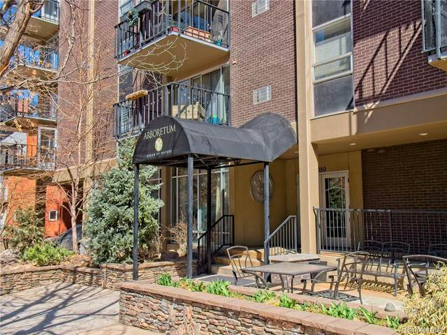 1150 Vine Street #302, Denver, CO 80206 (#1617355) :: Compass Colorado Realty