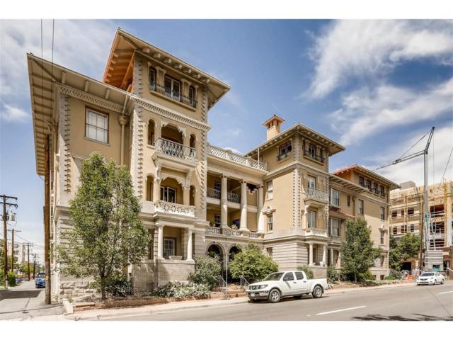 921 E 13th Avenue 1B, Denver, CO 80218 (#1620864) :: The Peak Properties Group