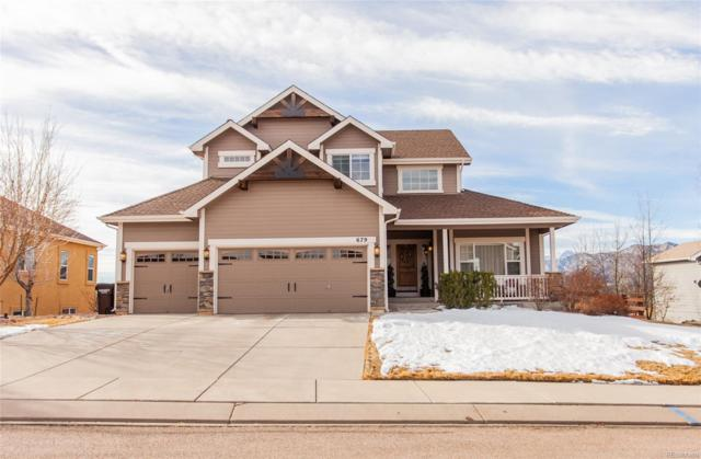 679 Burke Hollow Drive, Monument, CO 80132 (#1621222) :: The Heyl Group at Keller Williams