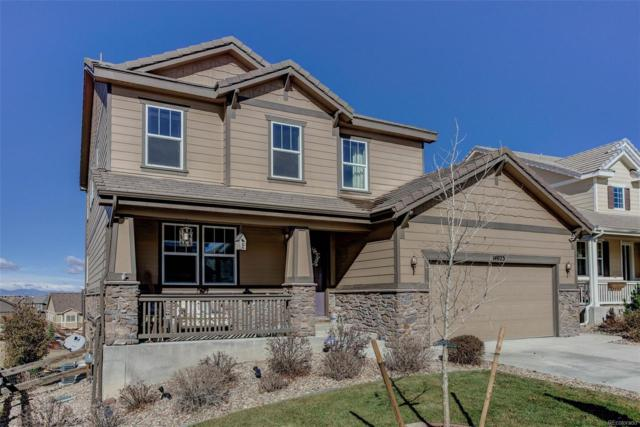 14023 Hillrose Drive, Parker, CO 80134 (#1621889) :: The DeGrood Team