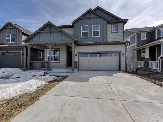 398 Hyde Park Circle, Castle Pines, CO 80108 (#1622521) :: The HomeSmiths Team - Keller Williams