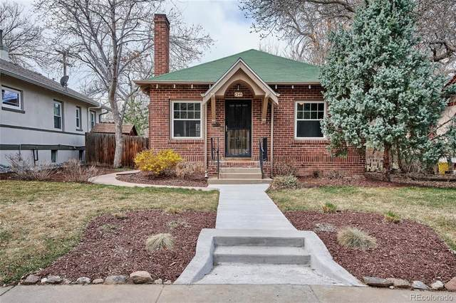 1541 Bellaire Street, Denver, CO 80220 (#1624090) :: The Dixon Group