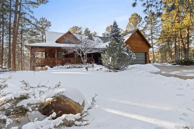 8321 Sugarloaf Road, Larkspur, CO 80118 (#1625497) :: The Colorado Foothills Team | Berkshire Hathaway Elevated Living Real Estate