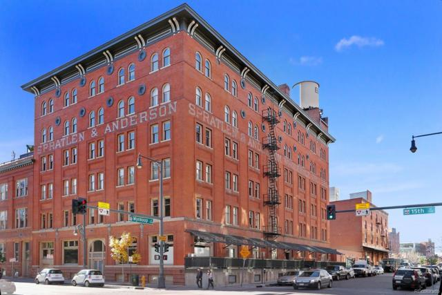 1450 Wynkoop Street 3F, Denver, CO 80202 (#1626036) :: The HomeSmiths Team - Keller Williams