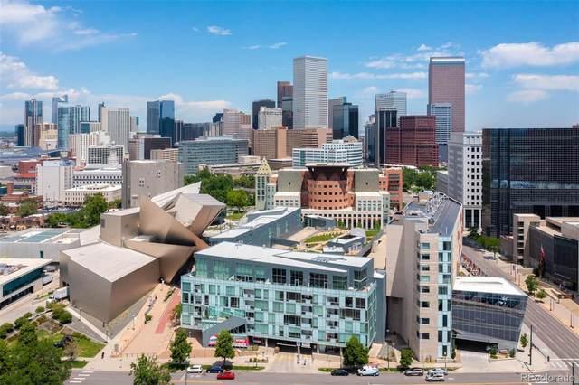 55 W 12th Avenue #607, Denver, CO 80204 (#1626216) :: Kimberly Austin Properties