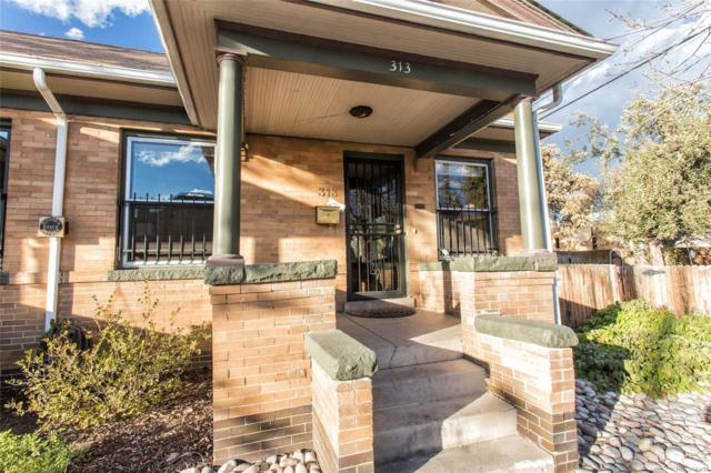 313 W 2nd Avenue, Denver, CO 80223 (#1626499) :: The Tamborra Team
