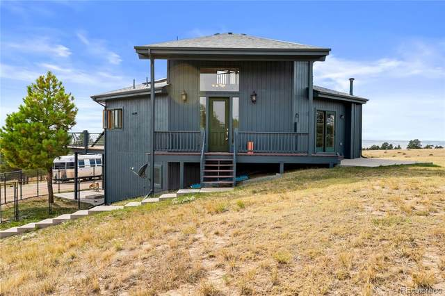 23150 E Lost Creek Trail, Agate, CO 80101 (#1628053) :: The DeGrood Team