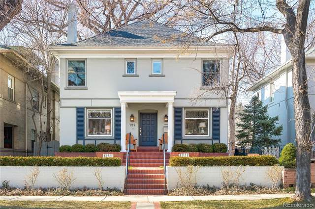 727 N Marion Street, Denver, CO 80218 (#1628707) :: The HomeSmiths Team - Keller Williams