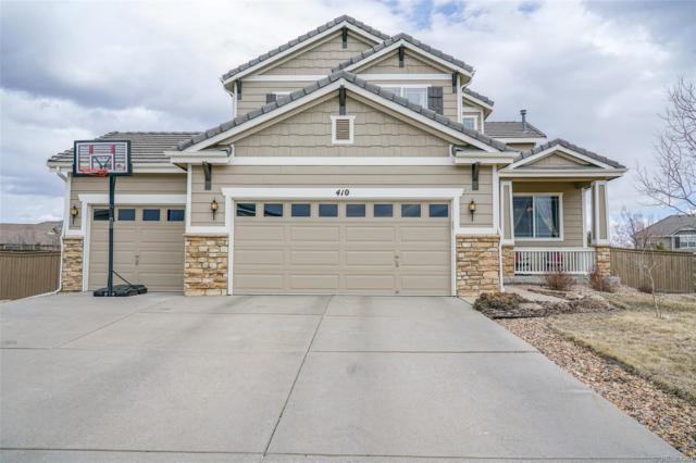 410 Ellendale Street, Castle Rock, CO 80104 (MLS #1631261) :: 8z Real Estate