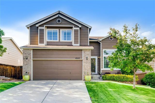 4845 Collinsville Place, Highlands Ranch, CO 80130 (#1634083) :: The Galo Garrido Group