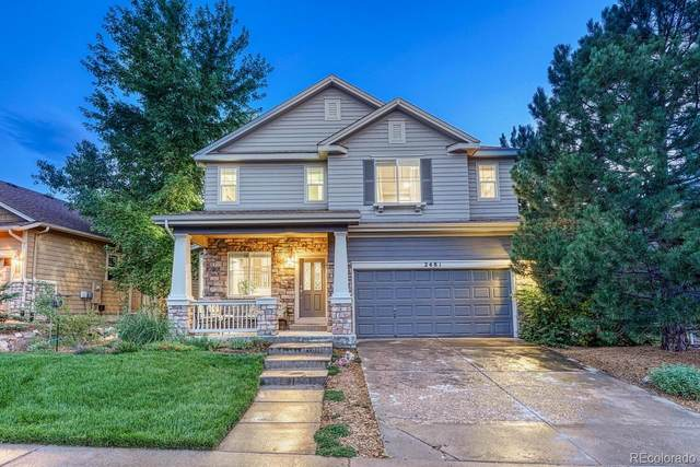 2481 Chesterfield Road, Castle Rock, CO 80109 (#1635605) :: The Colorado Foothills Team | Berkshire Hathaway Elevated Living Real Estate