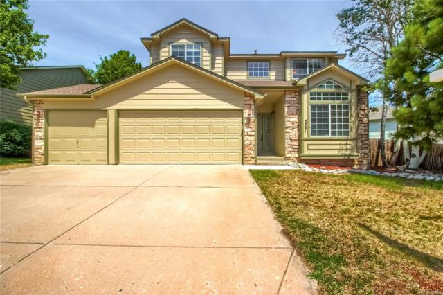 5381 S Danube Court, Centennial, CO 80015 (#1635730) :: The Heyl Group at Keller Williams