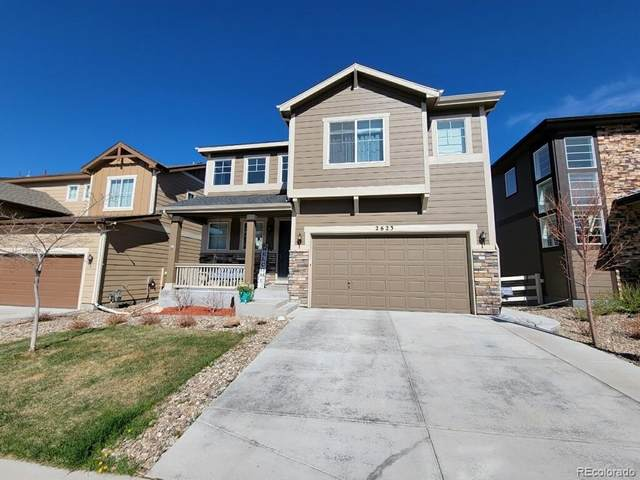 2623 Loon Circle, Castle Rock, CO 80104 (#1636917) :: Stephanie Fryncko | Keller Williams Integrity