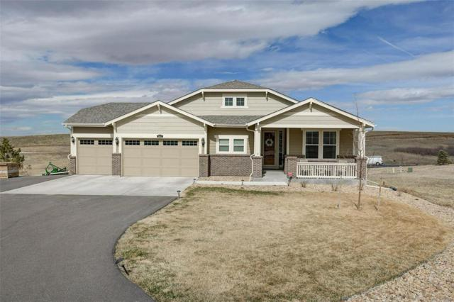 3867 Sagebrush Avenue, Parker, CO 80138 (#1639801) :: Structure CO Group