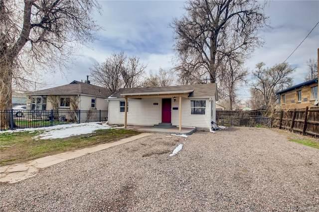 847 S Newton Street, Denver, CO 80219 (#1640811) :: Venterra Real Estate LLC