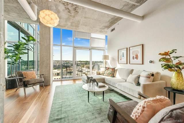 1700 Bassett Street #1116, Denver, CO 80202 (#1641090) :: Venterra Real Estate LLC