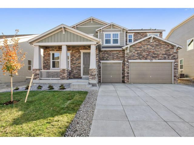 927 Sundance Lane, Erie, CO 80516 (MLS #1641946) :: 8z Real Estate