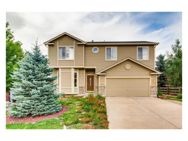 884 Mesa Creek Drive, Monument, CO 80132 (MLS #1645096) :: 8z Real Estate
