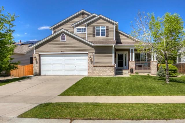 846 Shuttleworth Drive, Erie, CO 80516 (#1645892) :: The Galo Garrido Group