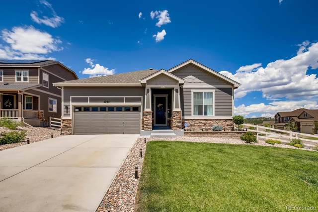 2985 Bluff Pointe Trail, Castle Rock, CO 80104 (#1651193) :: The HomeSmiths Team - Keller Williams