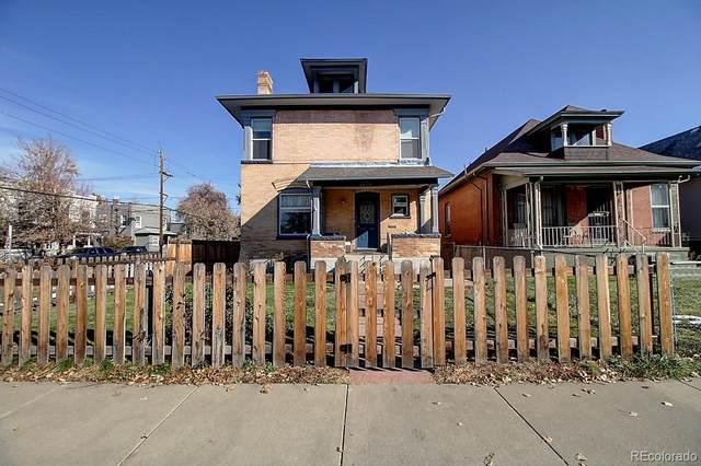 2256 N Williams Street, Denver, CO 80205 (#1654541) :: The HomeSmiths Team - Keller Williams