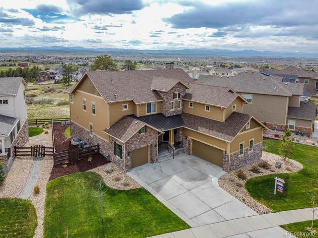 11551 Pine Canyon Drive, Parker, CO 80138 (#1654999) :: Briggs American Properties