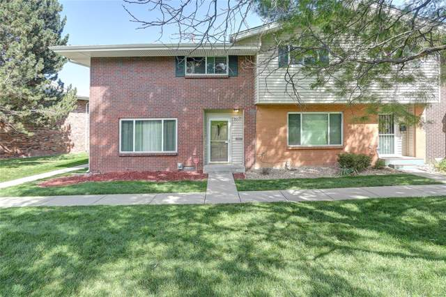 9019 E Mansfield Avenue, Denver, CO 80237 (#1656591) :: The DeGrood Team