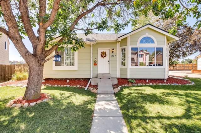 207 S Quicksilver Avenue, Castle Rock, CO 80104 (#1657290) :: Wisdom Real Estate