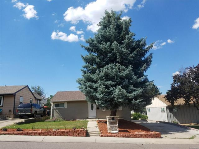 5105 W Virginia Avenue, Denver, CO 80219 (#1661380) :: The Galo Garrido Group