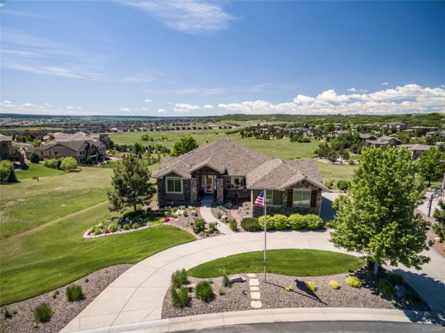 4505 Carefree Trail, Parker, CO 80134 (#1661461) :: The HomeSmiths Team - Keller Williams