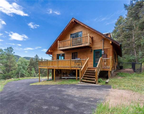 12161 Tecumseh Trail, Conifer, CO 80433 (MLS #1662630) :: Bliss Realty Group