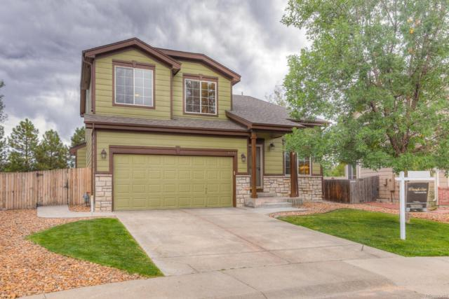 5171 Creek Way, Parker, CO 80134 (#1663813) :: The City and Mountains Group