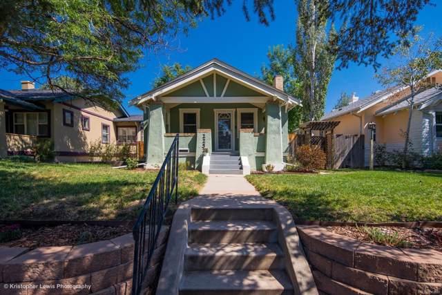 2252 S Corona Street, Denver, CO 80210 (MLS #1665134) :: 8z Real Estate