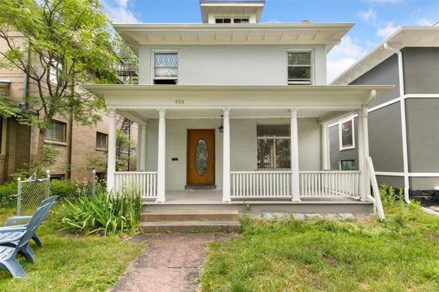 920 N Lafayette Street, Denver, CO 80218 (#1665258) :: Mile High Luxury Real Estate