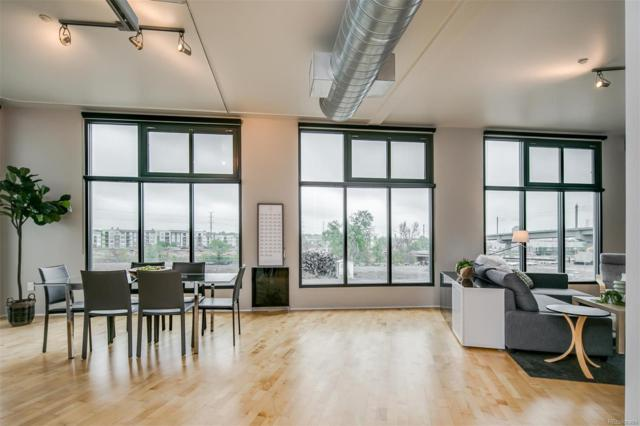 3100 Huron Street 2M, Denver, CO 80202 (MLS #1665545) :: 8z Real Estate