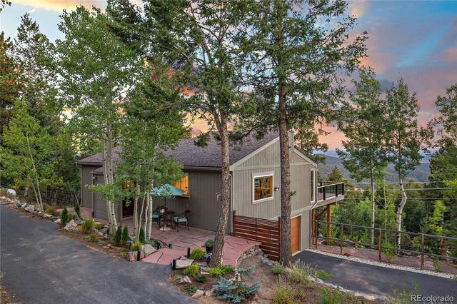 31177 Pike View Drive, Conifer, CO 80433 (#1666385) :: HomeSmart