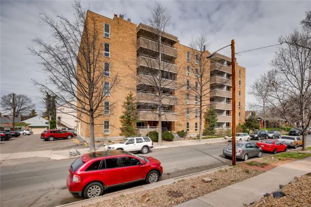 551 Pearl Street #405, Denver, CO 80203 (MLS #1667813) :: The Sam Biller Home Team