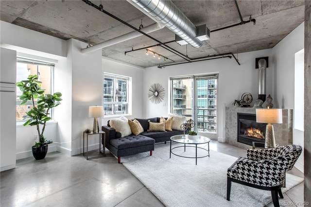 1610 Little Raven Street #511, Denver, CO 80202 (MLS #1668292) :: 8z Real Estate